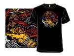 Animal Games T-Shirt Crow Direwolf Dragon Fish Game of Thrones Kraken Lion stag TV T Shirt
