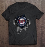 Minnesota Twins Heartbeats - Major League Baseball MLB MLB T Shirt
