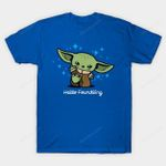 Hello Foundling T-Shirt Baby Yoda Hello Kitty Parody Star Wars The Mandalorian TV Yoda Yoda Baby T Shirt