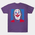 Blue Joker T-Shirt Batman villain DC Comics Joaquin Phoenix Joker movie pop art Supervillain T Shirt
