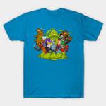 PLANET EXPRESS T-Shirt Bender Cartoon Futurama Leela Philip J. Fry TV T Shirt
