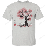 Forest Spirts Sumie T-Shirt anime T Shirt