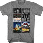 Collage Back To The Future T-Shirt 80s Movie T Shirt