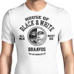 House of Black and White (Alt) Graphic Arts T Shirt