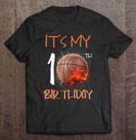 It's My 10th Birthday Basketball Version Birthday T Shirt
