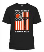 One nation under god Browns NFL Cleveland Browns T Shirt