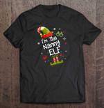 I'm The Nanny Elf Version BEST SELLING CHRISTMAS T Shirt