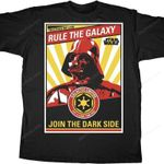 Darth Vader Rule the Galaxy Star Wars T-Shirt 80s Movie T Shirt