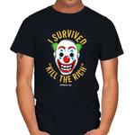 KILL THE RICH SURVIVOR T-Shirt 1981 Batman villain DC Comics Gotham City Joker movie Supervillain T Shirt