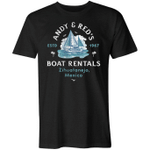 Andy And Red's Boat Rentals 5XL Shirt trending T Shirt