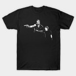 Eleven and Hopper T-Shirt Eleven Parody Pulp Fiction Stranger Things TV T Shirt