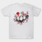 Starbird porg T-Shirt Japanese movie Porg Star Wars T Shirt