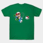 Super Poke'Bros T-Shirt Anime Mario Nintendo Pokeball Pokemon Super Mario Bros Video Game T Shirt