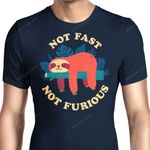 Not Fast, Not Furious Graphic Arts T Shirt