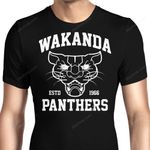 Team Panther Graphic Arts T Shirt