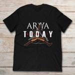 Arya Stark Not Today Game of Thrones T Shirt gmc_created Halloween Shirts T Shirt