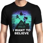 Believe in Magic Graphic Arts T Shirt