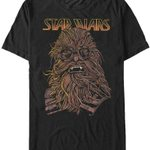 Chewbacca's Goggles Solo Star Wars T-Shirt movie STAR WARS SHIRTS T Shirt