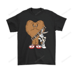 Gossamer And Bugs Bunny As Chewbacca And Han Solo Star Wars Shirts Bugs Bunny Chewbacca Gossamer Han Solo Looney Tunes Star Wars T Shirt