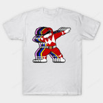 Power Dab T-Shirt Dabbing Mighty Morphin Power Rangers Power Rangers TV T Shirt