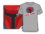 Fett Cadet T-Shirt movie Parody Star Wars T Shirt