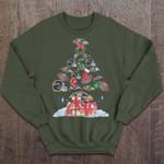 Ravens Christmas Tree - Christmas Sweater NFL T Shirt