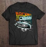 Back To The Oasis Back to the Future Oasis Ready Player One T Shirt