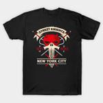 Street Knights T-Shirt 1964 2015 Dardevil Elektra Hell's Kitchen Marvel Comics New York nyc Punisher Superhero T Shirt