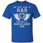 The Best Kind Of Dad Toronto Maple Leafs T Shirts bestfunnystore.com T Shirt