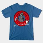 STUPID HUMANS! T-Shirt Bender Cartoon Futurama Looney Tunes Parody TV T Shirt