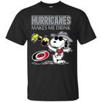 Carolina Hurricanes Make Me Drinks T Shirts bestfunnystore.com T Shirt
