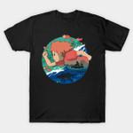 A Gold Fish Love STUDIO GHIBLI T-Shirt STUDIO GHIBLI T-SHIRTS T Shirt