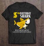 3rd Birthday Shark Doo Doo Doo Birthday T Shirt