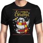It's a Magical Christmas Graphic Arts T Shirt