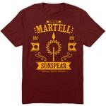 The Sunspear T-Shirt Game of Thrones House Martell Sunspear TV T Shirt