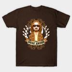 The Dude Abides T-Shirt movie The Big Lebowski T Shirt