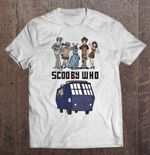 Scooby Who - Scooby Doo And Doctor Who Doctor Who Scooby Who Scooby-Doo TARDIS T Shirt