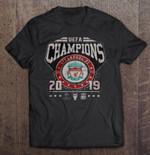 UEFA Champions Liverpool Fc 2019 Sport T Shirt