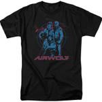 Cast Airwolf T-Shirt 80S TV T Shirt