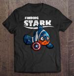 Finding Stark Captain America Clownfish Version Captain America Clownfish Finding Stark T Shirt
