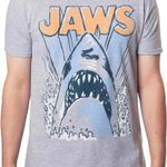 Jaws Animated Shark T-Shirt 80s Movie T Shirt