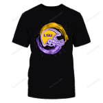 LSU Tigers - Water And Fire Helmet LSU Tigers T Shirt