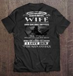 I Never Dreamed I'd Grow Up Marrying A Freaking Awesome Wife She Was Born In November And She Has Tattoos Wife T Shirt