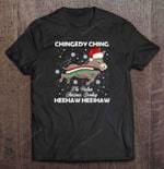 Chingedy Ching The Italian Christmas Donkey Heehaw Heeihaw BEST SELLING CHRISTMAS T Shirt