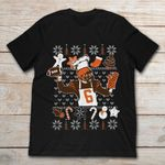 Baker Mayfield With Cooking And Christmas T Shirt Christmas gmc_created T Shirt