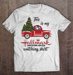 This Is My Hallmark Christmas Movies Watching Shirt Red Car With Eeyore And Christmas Tree Version Christmas Movie Christmas tree Eeyore Hallmark Red