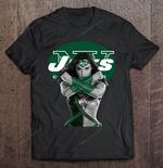 Wonder Woman And New York Jets NFL T Shirt