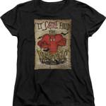 Womens Gossamer From The Depths Looney Tunes Shirt 80S CARTOON T Shirt