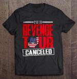 2018 Revenge Tour Canceled Ohio Map Version Football T Shirt