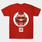 Oni Jumpman T-Shirt kabuki Mario Nintendo oni Parody Super Mario Bros Video Game T Shirt